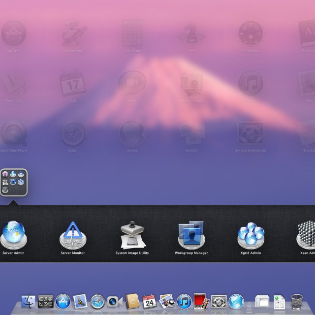 Mac OS X Lion - Server side