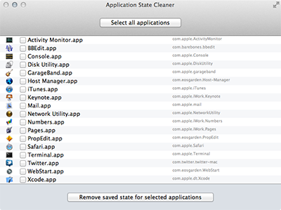 Application State Cleaner